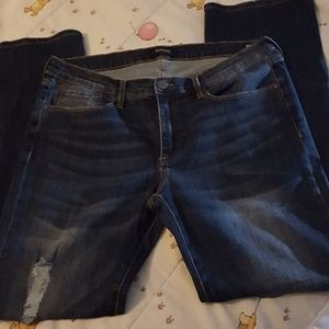 Distressed Buffalo Jeans ladies